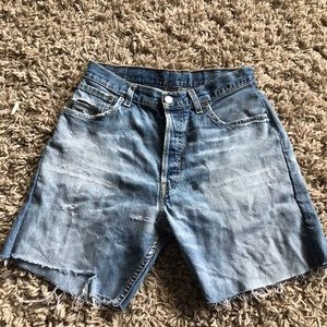 Vintage Levi cutoff shorts
